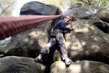 Rock Climbing Thumb