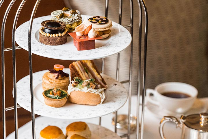 Afternoon Tea for Two at Sheraton Grand London Park Lane Hotel