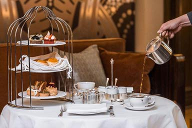 Afternoon Tea for Two at Sheraton Grand London Park Lane Hotel Thumb