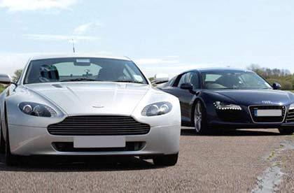 Aston Martin & Audi R8