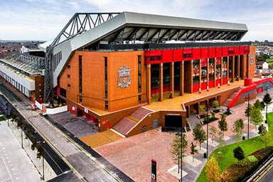 The Anfield Experience for Two Thumb