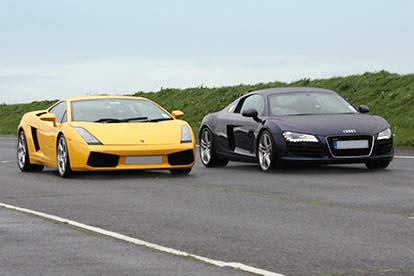 Audi R8 & Lamborghini