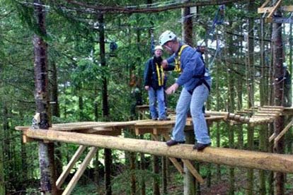 Deluxe High Ropes Adventure
