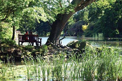 Garden Lunch and Tour at Swinton Park for Two