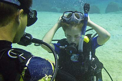 Junior Discover Scuba Diving For Two