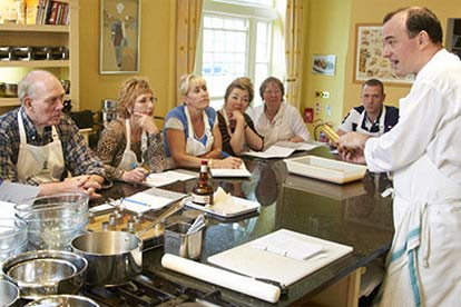 cookery course at swinton park