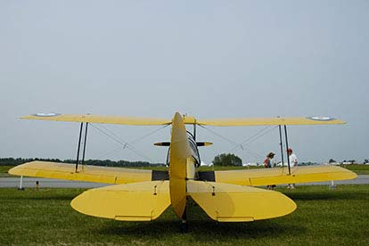 Teen Tiger Moth and Tank Day