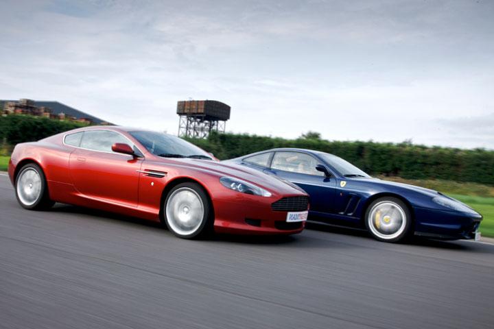 Aston Martin, Ferrari & Lamborghini