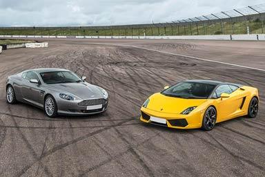 Aston Martin & Lamborghini