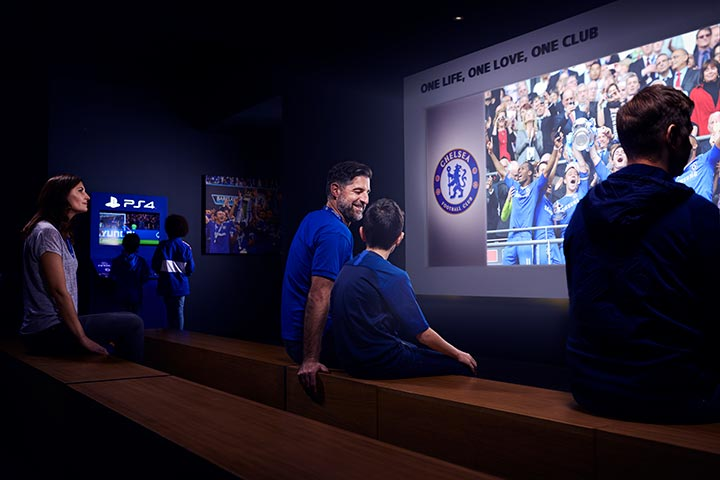 Chelsea Football Club Tour for One Adult & One Child
