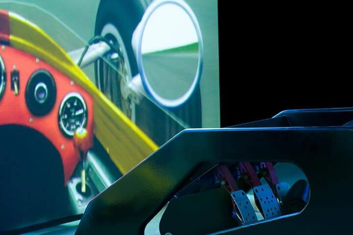F1 Race Car Simulator Session
