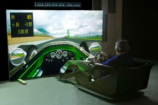 F1 Race Car Simulator Session
