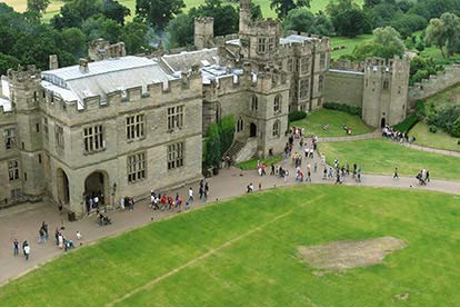 adult entrance ticket to warwick castle