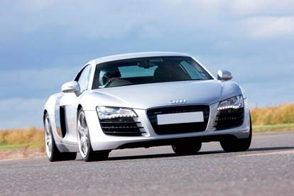Audi R8 Hot Lap Passenger Ride for Two