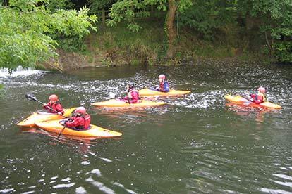 Kayaking BCU 1-Star Award Course