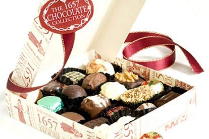 Medium Red Collection from 1657 Chocolate House