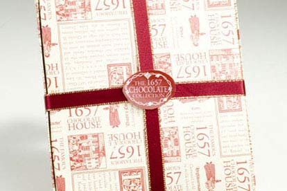 Family Red Collection from 1657 Chocolate House