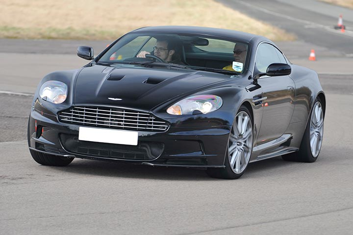 Aston Martin DBS Hot Lap Passenger Ride