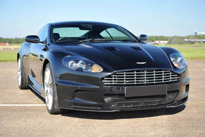 Aston Martin DBS Hot Lap Passenger Ride for Two