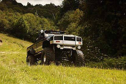 Euro Monster Truck Driving