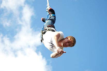 Forward & Backward Bungee Jump
