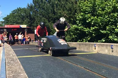 Bobsleigh for Two Thumb