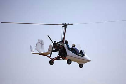 65 Minute Gyrocopter Flying Lesson