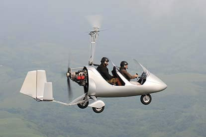 40 Minute Gyrocopter Flying Lesson