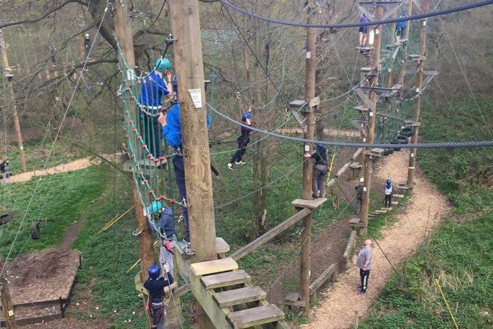 High Ropes Adventure for Two
