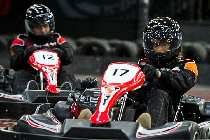 Indoor Karting Session for Two