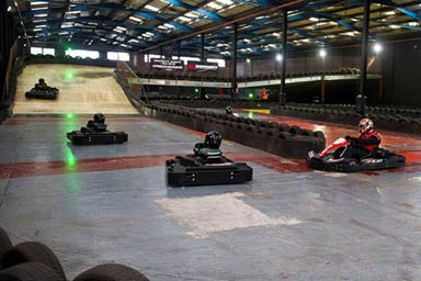 Indoor Karting Session for Two Thumb