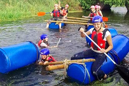 Junior Raft Building