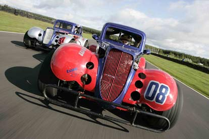 hot rod at knockhill