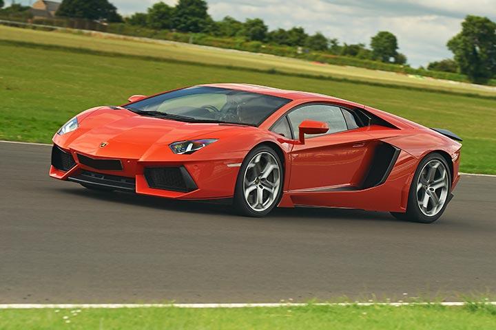 Lamborghini Aventador Hot Lap Passenger Ride