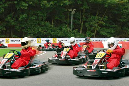 open race karting