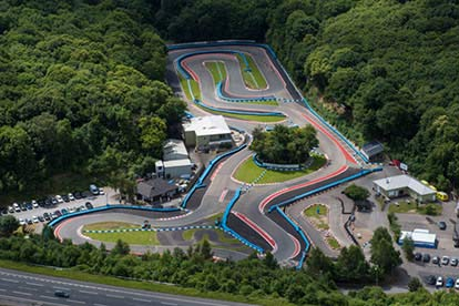 Outdoor Karting Session for Two in Kent