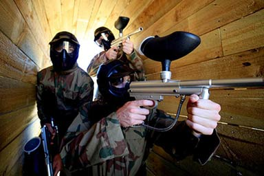 Paintball Experience for Ten Thumb