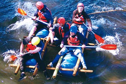 Raft Building Experience for Two