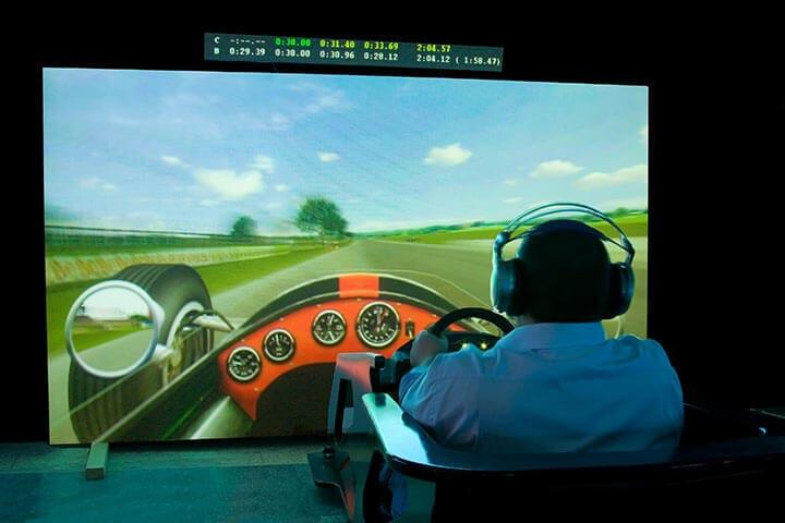 F1 Race Car Simulator for 2