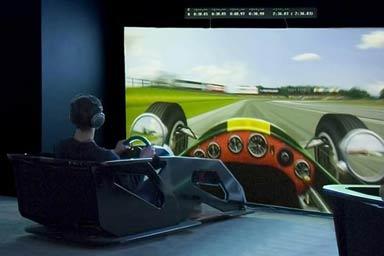 F1 Race Car Simulator for 2 Thumb