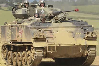 Tank Driving Thrill