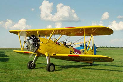 15 Minute Tiger Moth Flying Lesson