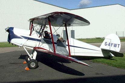 25 Minute Aerobatics Flight in a Vintage Bi-Plane
