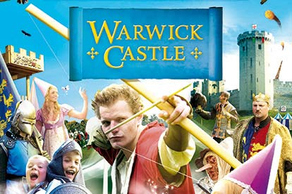 Family Entrance Ticket for Warwick Castle