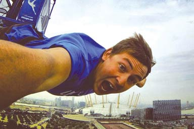 Bungee Jump at the O2 Arena
