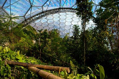 Eden Project Entrance for Two Thumb
