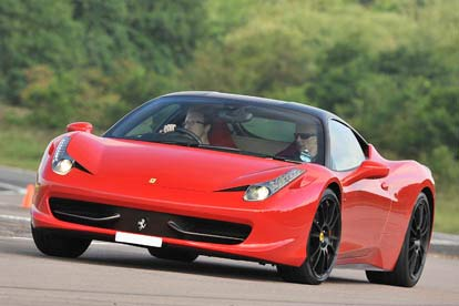ferrari 458 hot lap ride for two