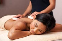 Relaxing Spa Day With Lava Shell Treatments