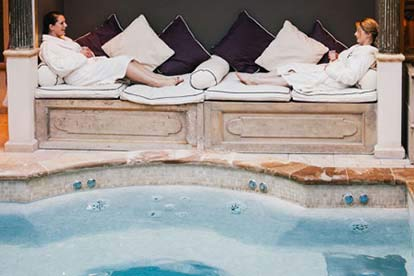 Charlton House Spa Day with Two Course Lunch for Two