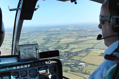 Fathers Day  Helicopter Thrill with Fizz for Two